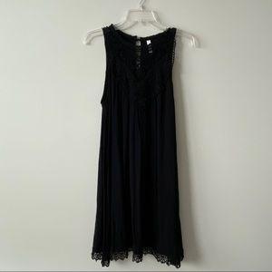 Target black high neck dress